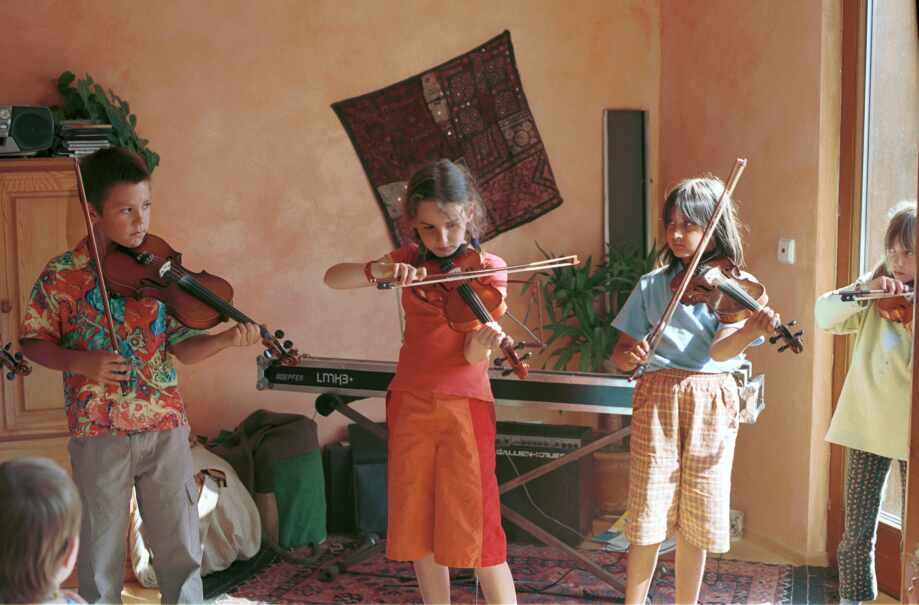 Geigenunterricht Katharina Mlitz-Hussain