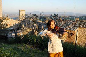 Katharina Rocca di San Gimignano