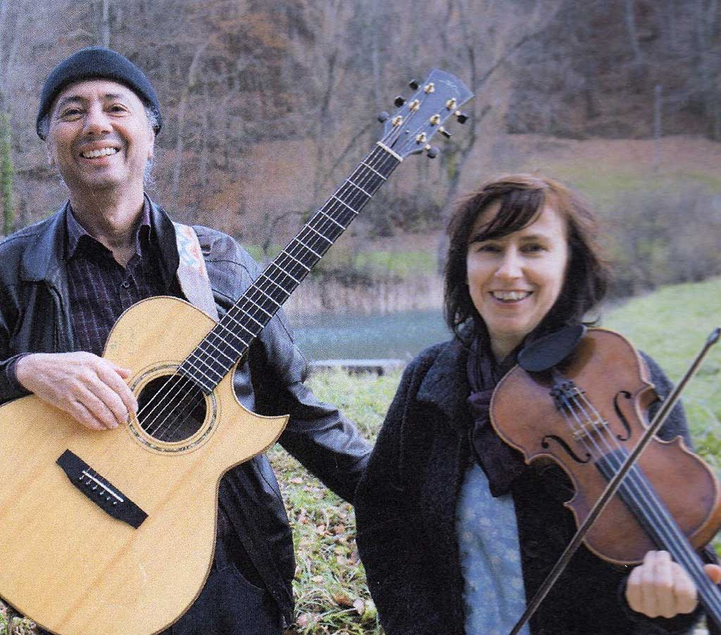 Peter Wydler und Katharina Mlitz-Hussain