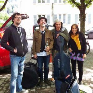 Konrad Wiemann, Oliver Scheidies, Dilshod Nazarov, Katharina Mlitz-Hussain